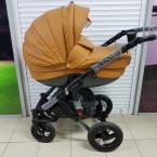 Детская коляска Adamex Barletta Delux (100% ecco 2в1)