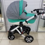 Детская коляска Adamex Barletta (50% ecco)