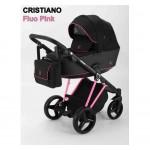 Детская коляска Adamex Cristiano Fluo