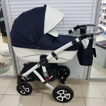 Детская коляска Adamex Gloria (50% кожа 2в1)