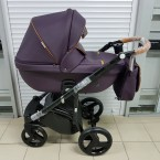 Детская коляска Adamex Massimo 100% Ecco НОВИНКА!