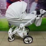 Детская коляска Adamex Monte Delux Carbon 100% Ecco (НОВИНКА 2018г)