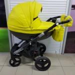 Детская коляска Adamex Monte Delux Carbon 100% Ecco