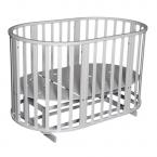 Детская кроватка Антел Северянка 3  (круг+овал. 6в1)
