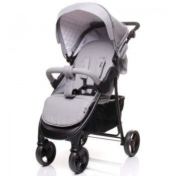 Детская коляска 4BABY RAPID PREMIUM light grey