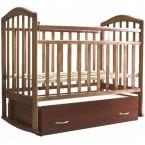 Детская кроватка Антел АЛИТА-4 Цвет: Орех