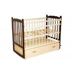 Кровать детская К-03 Венге-ваниль