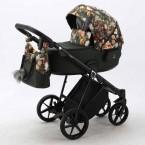 Детская коляска Adamex Porto Flowers