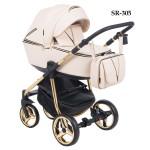 Детская коляска Adamex Sierra Sp.Ed. 100% Ecco