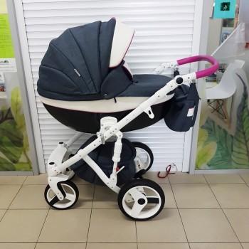 Детская коляска Adamex Monte Carbon Delux б/у