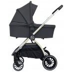 Детская коляска Bubago Lacio 3в1 (silver)