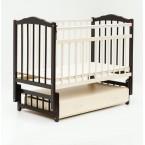 Детская кроватка Бамбини 10 Маятник c ящиком (все расцветки)